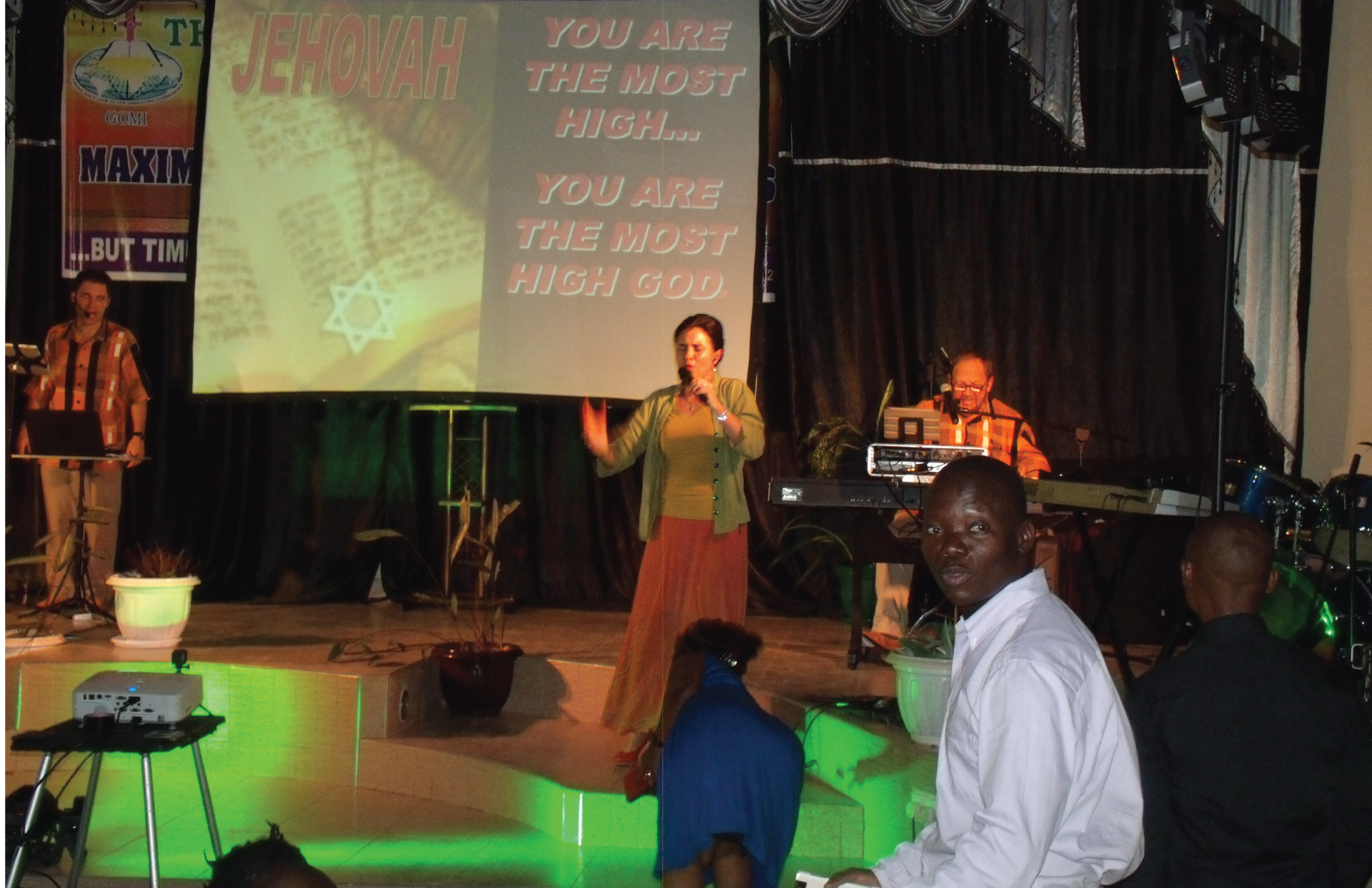 Vine Song Concert in Uganda with Worship Africa Ministries